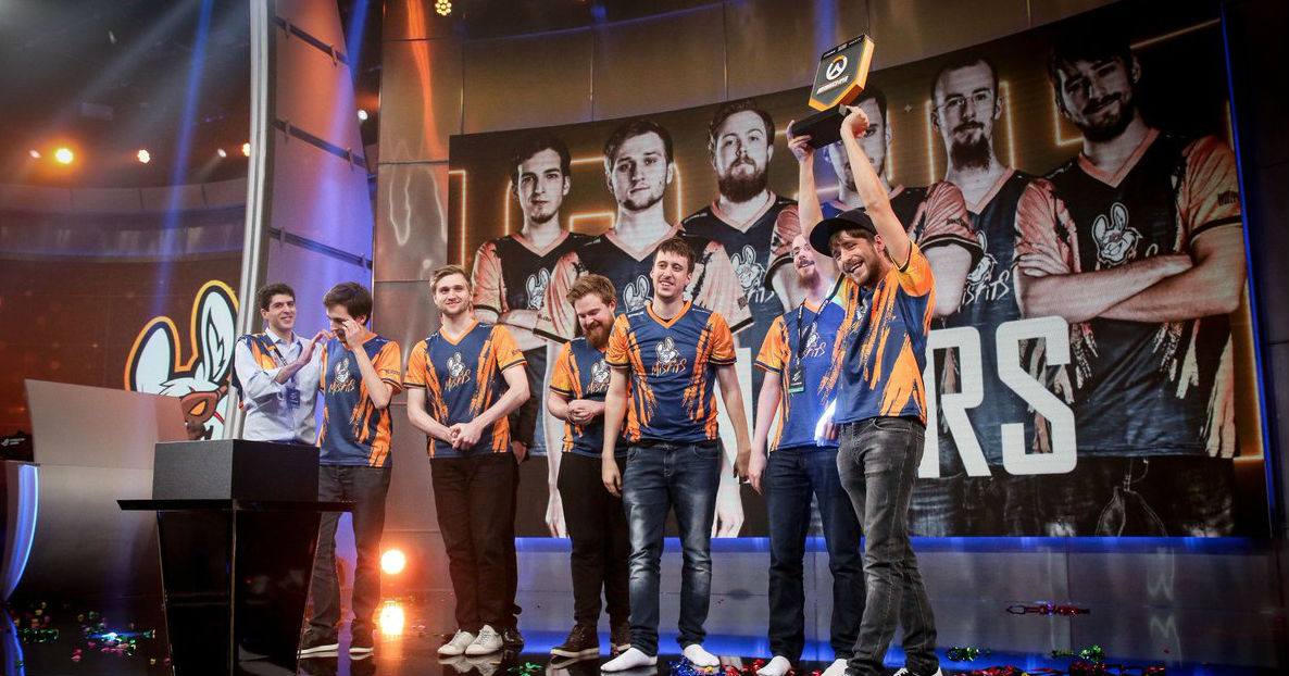 Misfits win the Overwatch Open