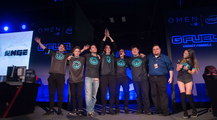 Immortals won their first offline title at Winter Premiere Finals. Image credit: Blizzard