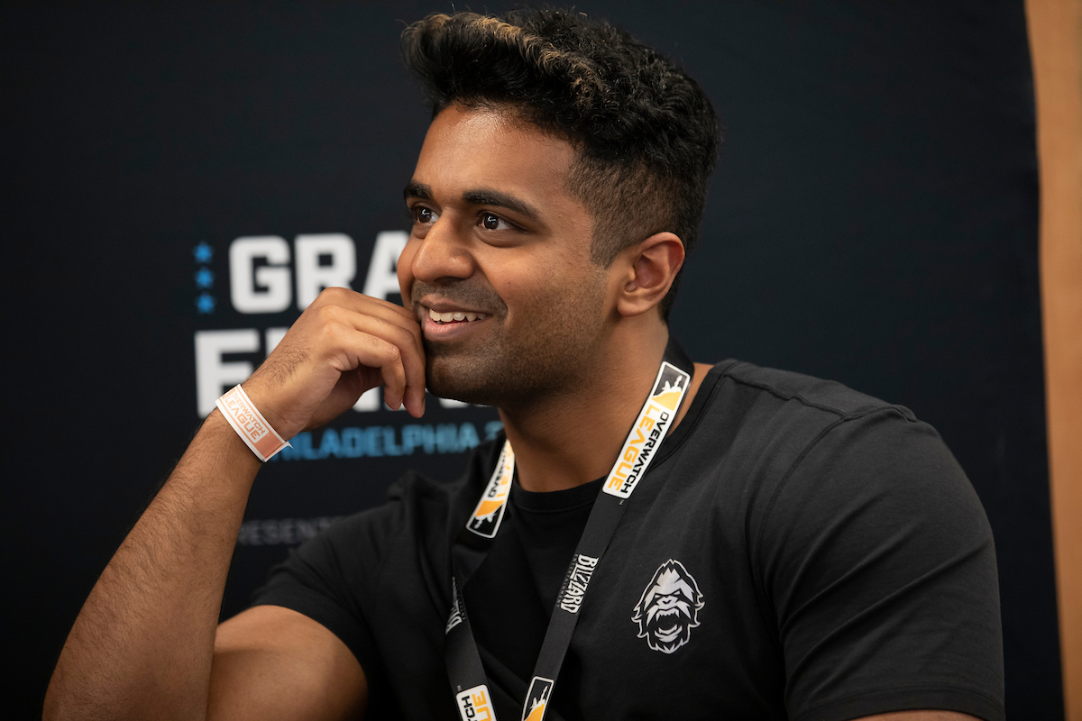 Harsha at media day