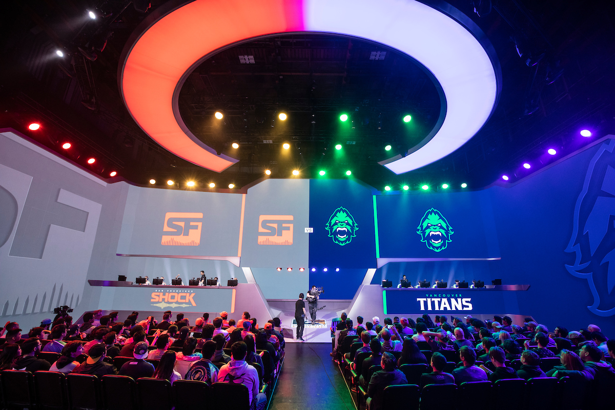 Shock vs Titans Stage 1