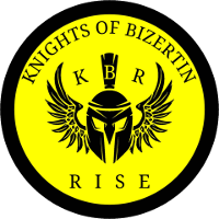 Knights of Bizertin Rise team logo