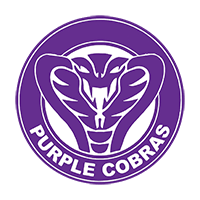 Purple Cobras team logo